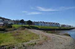 Άποψη της δυτικής Ουαλίας UK Aberaeron Στοκ φωτογραφίες με δικαίωμα ελεύθερης χρήσης