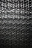 Άποψη της υφαμένης εργασίας από τις τεχνητές λουρίδες ινδικού καλάμου Στοκ φωτογραφία με δικαίωμα ελεύθερης χρήσης