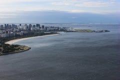 Άποψη της φραντζόλας ζάχαρης και του κόλπου Guanabara Στοκ εικόνες με δικαίωμα ελεύθερης χρήσης