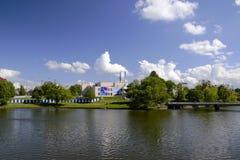 Άποψη της χαμηλότερης λίμνης Στοκ φωτογραφία με δικαίωμα ελεύθερης χρήσης