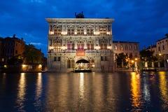Άποψη της χαρτοπαικτικής λέσχης της Βενετίας Στοκ Εικόνες