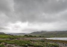 Άποψη της χερσονήσου Applecross Στοκ Εικόνες