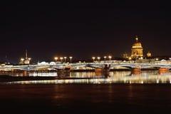 Άποψη της Annunciation γέφυρας, το αγγλικό ανάχωμα Στοκ Φωτογραφία