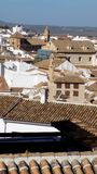 Άποψη της antequera-Ανδαλουσία-Ισπανίας Στοκ εικόνες με δικαίωμα ελεύθερης χρήσης