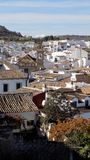 Άποψη της antequera-Μάλαγα-Ανδαλουσίας Ισπανία Στοκ Εικόνα