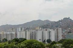 Άποψη της EL Valle στο Καράκας, Βενεζουέλα στοκ φωτογραφίες