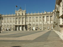 άποψη της Royal Palace στη Μαδρίτη Στοκ φωτογραφία με δικαίωμα ελεύθερης χρήσης