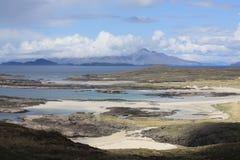 Άποψη της Sanna Bay Στοκ Εικόνα