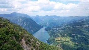 Άποψη της Tara βουνών Στοκ φωτογραφία με δικαίωμα ελεύθερης χρήσης