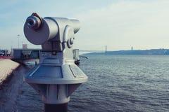 Άποψη τηλεσκοπίων Στοκ εικόνα με δικαίωμα ελεύθερης χρήσης