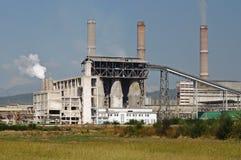 Άποψη τοπίων βιομηχανίας στοκ εικόνες