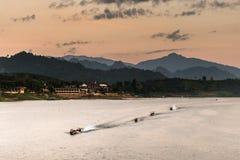 Άποψη τοπίων της μεγάλης λιμνοθάλασσας Στοκ φωτογραφίες με δικαίωμα ελεύθερης χρήσης