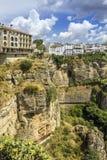 Άποψη τοπίων της Ronda Μια πόλη στην ισπανική επαρχία της Μάλαγας Στοκ Εικόνες