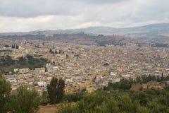 Άποψη τοπίων του Fez, Μαρόκο Στοκ Φωτογραφίες