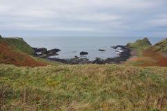 Άποψη τοπίων του Giant& x27 υπερυψωμένο μονοπάτι του s, Βόρεια Ιρλανδία Στοκ φωτογραφία με δικαίωμα ελεύθερης χρήσης