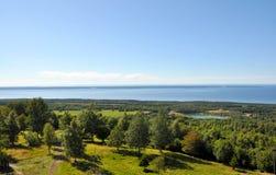 Άποψη τοπίων Στοκ Φωτογραφίες