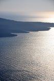 Τοπίο Santorini Στοκ Φωτογραφίες