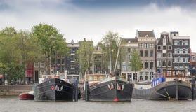 Άποψη του Άμστερνταμ Στοκ Εικόνες