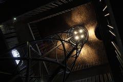 Άποψη του άξονα ανελκυστήρων Στοκ Φωτογραφίες