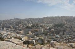 Άποψη του Αμμάν Ιορδανία Στοκ Εικόνα