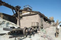 Άποψη του βαμβακερού υφάσματος, Καλιφόρνια, SAN Bernardino County Στοκ εικόνα με δικαίωμα ελεύθερης χρήσης