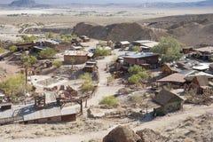 Άποψη του βαμβακερού υφάσματος, Καλιφόρνια, SAN Bernardino County Στοκ φωτογραφίες με δικαίωμα ελεύθερης χρήσης