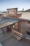 Άποψη του βαμβακερού υφάσματος, Καλιφόρνια, SAN Bernardino County Στοκ Φωτογραφία