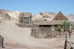 Άποψη του βαμβακερού υφάσματος, Καλιφόρνια, SAN Bernardino County Par Στοκ Εικόνες