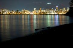 Άποψη του Βανκούβερ Στοκ φωτογραφία με δικαίωμα ελεύθερης χρήσης