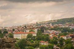 Άποψη του Βελίκο Τύρνοβο Στοκ φωτογραφία με δικαίωμα ελεύθερης χρήσης