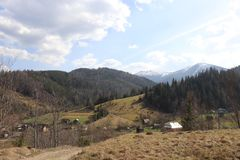 Άποψη του βουνού λαϊκός-Ivan στοκ φωτογραφία