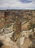 Άποψη του βράχου αραχνών - φαράγγι Chelly, Arizon Στοκ φωτογραφία με δικαίωμα ελεύθερης χρήσης