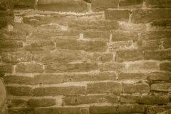 Άποψη του βρώμικου παλαιού σχεδίου τουβλότοιχος Αφηρημένο κόκκινο ηλικίας τούβλο β Στοκ Φωτογραφία
