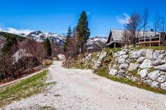 Άποψη του εθνικού πάρκου Σλοβενία Triglav Στοκ εικόνες με δικαίωμα ελεύθερης χρήσης