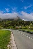 Άποψη του εθνικού πάρκου Σλοβενία Triglav Στοκ Εικόνες