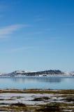 Άποψη του ηφαιστείου Hverfjall Στοκ φωτογραφία με δικαίωμα ελεύθερης χρήσης