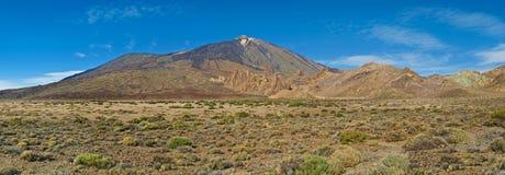 Άποψη του ηφαιστείου teide EL Στοκ Εικόνες