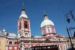 άποψη του θόλου της εκκλησίας στοκ φωτογραφία με δικαίωμα ελεύθερης χρήσης