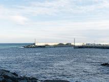 άποψη του λιμανιού arenzano Στοκ εικόνα με δικαίωμα ελεύθερης χρήσης