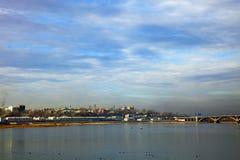 Άποψη του Ιρκούτσκ, Ρωσία Στοκ φωτογραφία με δικαίωμα ελεύθερης χρήσης