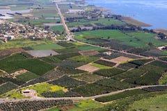 Άποψη του Ισραήλ Στοκ Εικόνες
