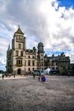 Άποψη του κάστρου και του κήπου Σκωτία UK Dunrobin στοκ εικόνα με δικαίωμα ελεύθερης χρήσης