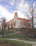 Άποψη του κάστρου της Μπρατισλάβα Στοκ φωτογραφίες με δικαίωμα ελεύθερης χρήσης