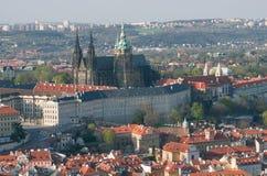 Άποψη του Κάστρου της Πράγας Στοκ Εικόνα