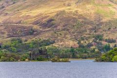Άποψη του κάστρου Kilchurn σε Dalmally στοκ φωτογραφία με δικαίωμα ελεύθερης χρήσης