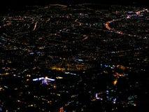 Άποψη του κέντρου της Μπογκοτά, Κολομβία στο χρόνο Χριστουγέννων Στοκ Φωτογραφίες
