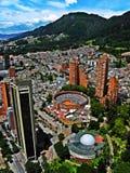 Άποψη του κέντρου της Μπογκοτά, Κολομβία Στοκ φωτογραφίες με δικαίωμα ελεύθερης χρήσης