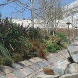 Άποψη του κέντρου Getty στοκ φωτογραφίες με δικαίωμα ελεύθερης χρήσης