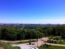 Άποψη του Κίεβου Στοκ εικόνα με δικαίωμα ελεύθερης χρήσης