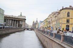 Άποψη του καναλιού Griboyedov στοκ φωτογραφίες